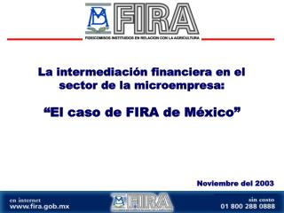 La intermediación financiera en el sector de la microempresa: