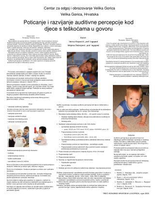Centar za odgoj i obrazovanje Velika Gorica Velika Gorica, Hrvatska
