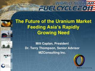 The Future of the Uranium Market Feeding Asia's Rapidly  Growing Need