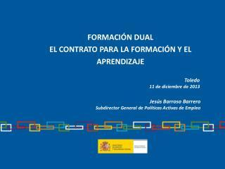 Formación dual EL CONTRATO PARA LA FORMACIÓN Y EL APRENDIZAJE