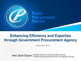 Enhancing Efficiency and Expertise through Government Procurement  Agency