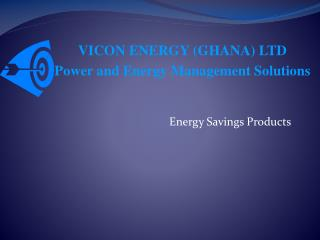 Energy Savings Products