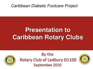 Caribbean Diabetic Footcare Project