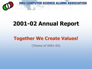 2001-02 Annual Report