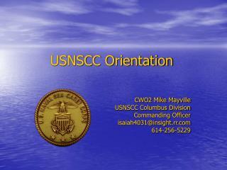 USNSCC Orientation