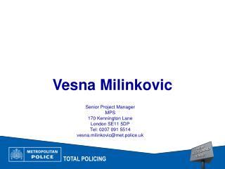 Vesna Milinkovic