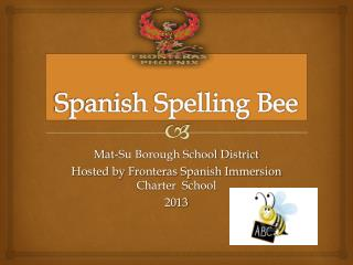 Spanish Spelling Bee