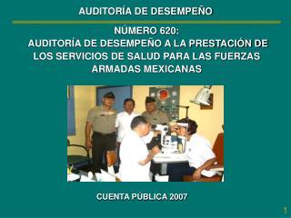 CUENTA PÚBLICA 2007