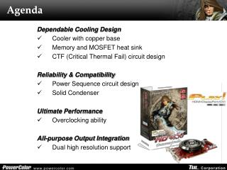 Dependable Cooling Design Cooler with copper base Memory and MOSFET heat sink