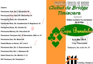 Clubul de Bridge   Timisoara