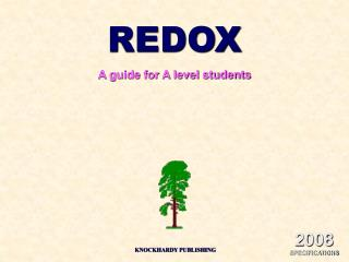 REDOX A guide for A level students