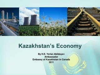 Kazakhstan's Economy