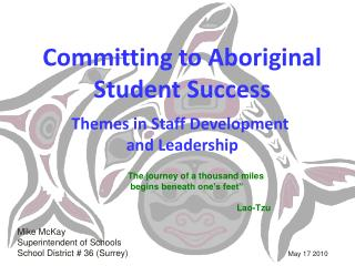 Committing to Aboriginal Student Success