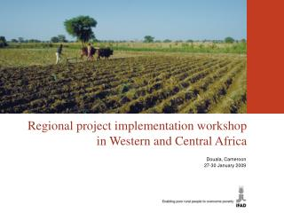 Regional project implementation workshop in Western and Central Africa