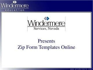 Presents Zip Form Templates Online