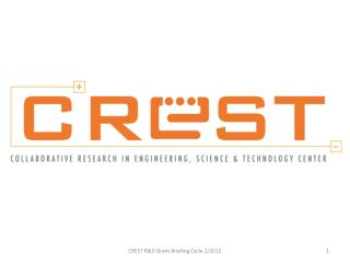 Overview of CREST R&D Grant