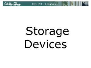 CIS 191 - Lesson 2