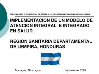 Managua, NicaraguaSeptiembre, 2007