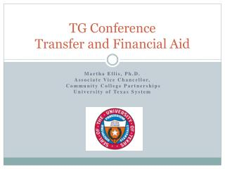 TG Conference Transfer and Financial Aid