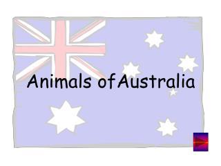 Animals ofAustralia