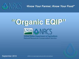 """"""" Know Your Farmer; Know Your Food"""""""