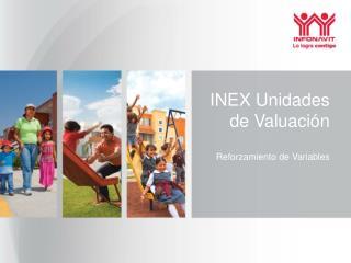 INEX Unidades de Valuación