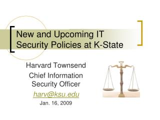 New and Upcoming IT Security Policies at K-State