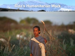 Sida's Humanitarian Work