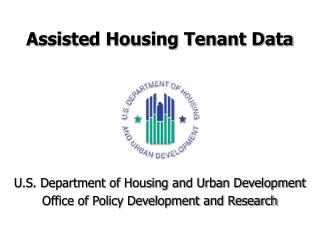 Assisted Housing Tenant Data