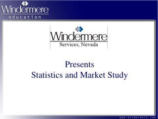Presents Statistics and Market Study