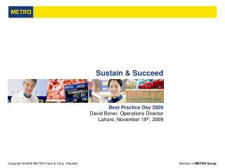 Sustain & Succeed