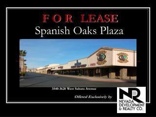 Spanish Oaks Plaza