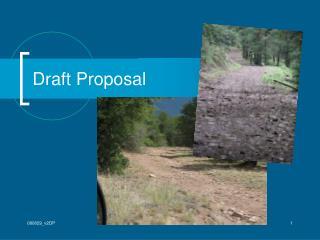 Draft Proposal