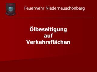 Feuerwehr Niederneuschönberg