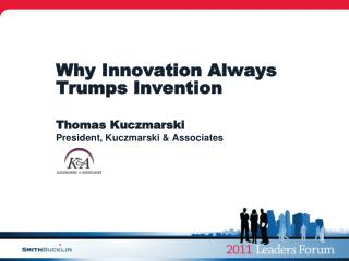 Why Innovation Always Trumps Invention