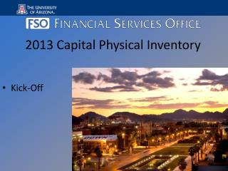 2013 Capital Physical Inventory