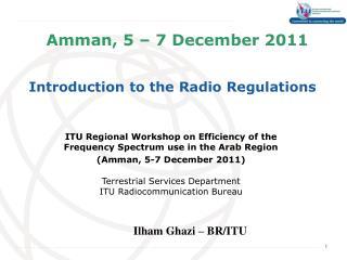 Amman, 5 – 7 December 2011