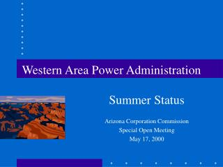 Western Area Power Administration