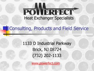 Heat Exchanger Specialists Consulting, Products and Field Service