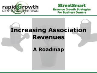 Increasing Association Revenues A Roadmap