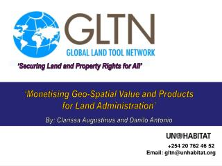 GLTN Secretariat, facilitated by