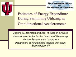 Estimates of Energy Expenditure During Swimming Utilizing an Omnidirectional Accelerometer