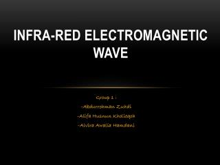Infra-Red Electromagnetic Wave