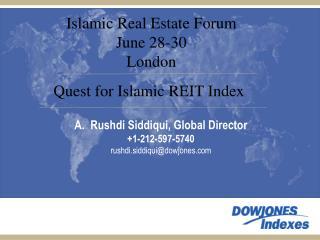 Rushdi Siddiqui, Global Director +1-212-597-5740 rushdi.siddiqui@dowjones
