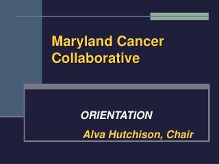 Maryland Cancer Collaborative