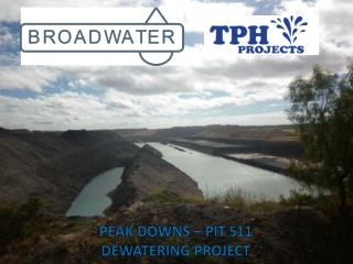 PEAK DOWNS – PIT S11  DEWATERING PROJECT