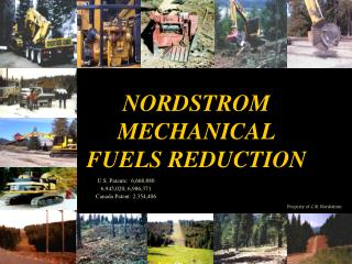 NORDSTROM MECHANICAL FUELS REDUCTION