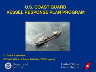 U.S. COAST GUARD VESSEL RESPONSE PLAN PROGRAM