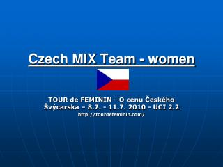 Czech MIX Team - women