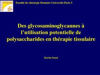 Faculté de chirurgie Dentaire Université Paris 5